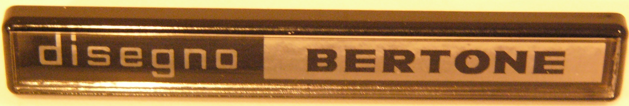 Bertone badge